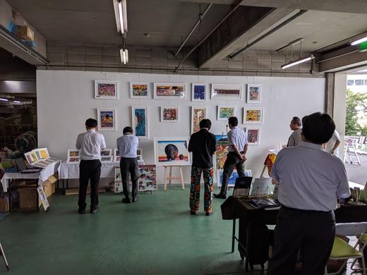 澤政111年祭り(展示会)&アフリカ絵画展